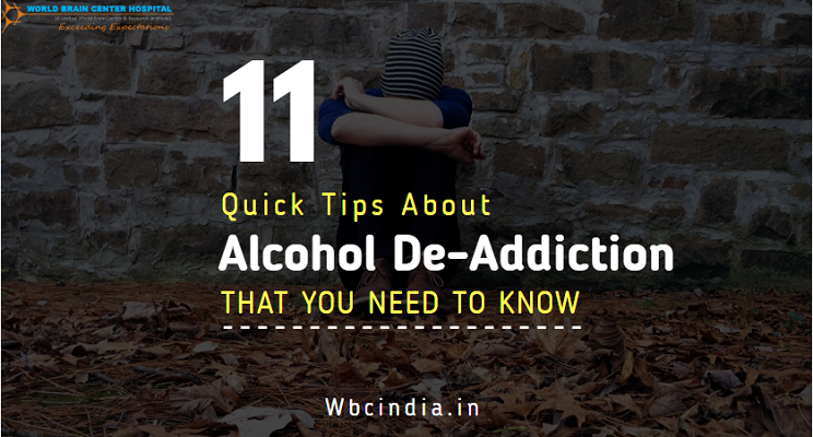 Tips of Alcohol De-addiction